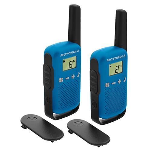 Motorola Talkabout T42 Blue Twin Pack