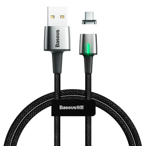 Baseus Zinc Magnetic Cable USB For Type-C 2A 2m Black