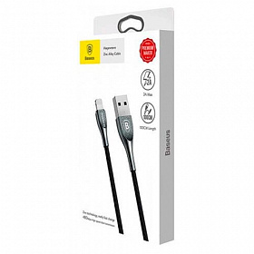 Baseus Zinc Alloy Cable Iphone 2A 1M Black